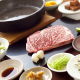 神戸牛サーロインステーキと創作海鮮料理のコース