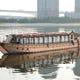 豪華総檜造り「なわ安丸」 伝統的日本情緒あふれる屋形船