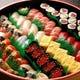 高級江戸前握り寿司付き オプションでお楽しみ頂けます。