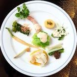 旬の食材を最適な調理法でご提供します。