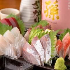 三浦の獲れたて鮮魚 お刺身盛合せ