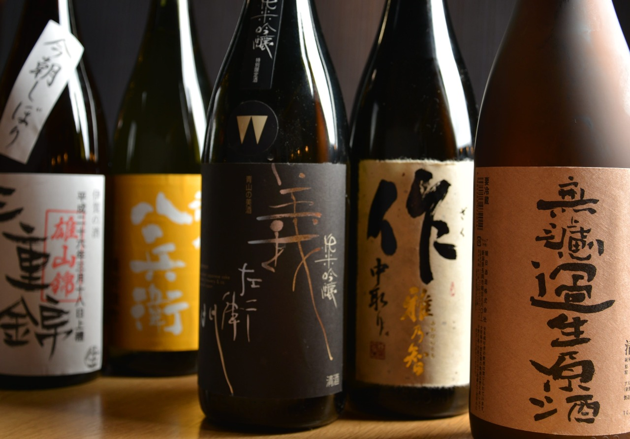 美味しい料理に合う厳選した日本酒