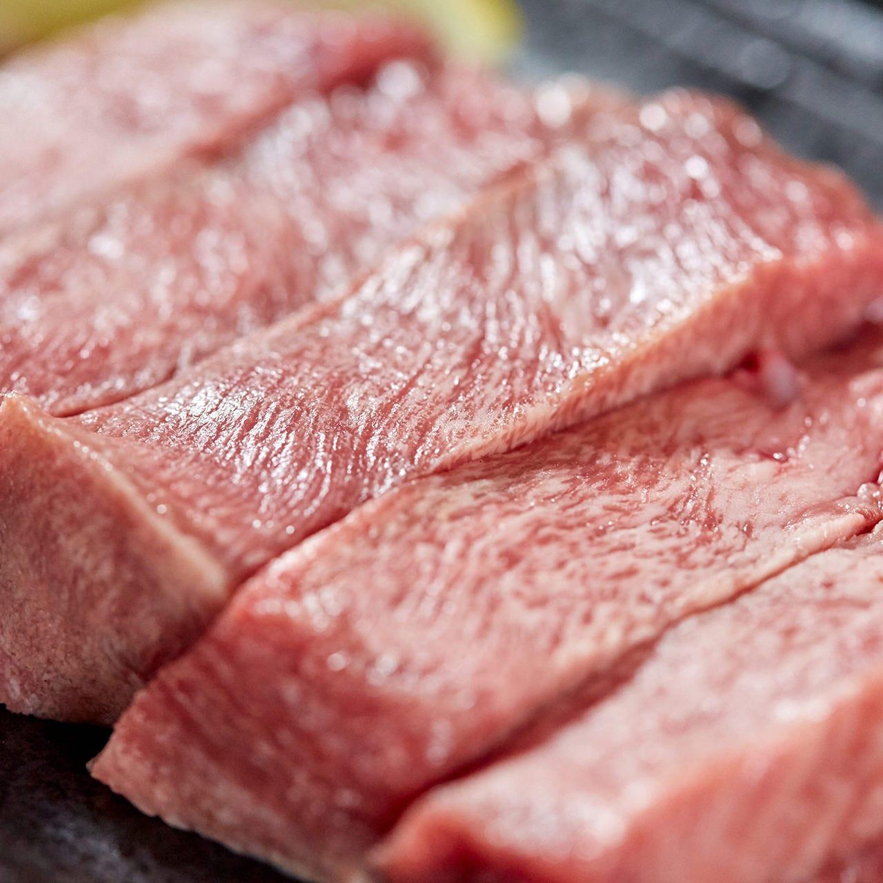 噛めば噛むほど湧き出る深い味わい「厚切り特製タン塩」