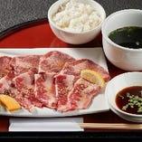 牛タン&カルビ定食