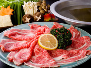松阪肉しゃぶしゃぶコース