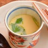 箸休めに最適な茶碗蒸し