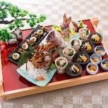 [ご宴会プラン] ◇真鯛の姿造・仙台牛など豪華食材!