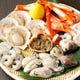 北海道産・帆立貝柱、広島産牡蠣など季節の食材を豊富に取り揃え