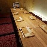 落ち着いた雰囲気が人気の宴会個室 【最大16名様まで可能です】