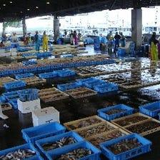 豊浜、片名漁港より直接買い付け