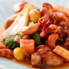 鶏カシュナッツピリ辛炒め