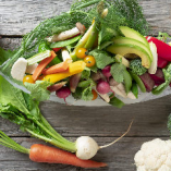 こだわり野菜料理で、地球にも身体にも優しく