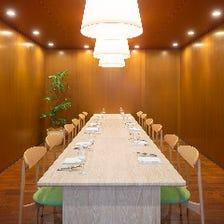 ◆半個室でパーティー