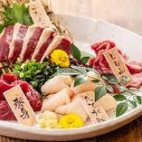 新鮮な肉刺しはお酒との相性◎【神奈川県】