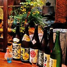 広島の賀茂鶴に各地の銘柄を取り揃え