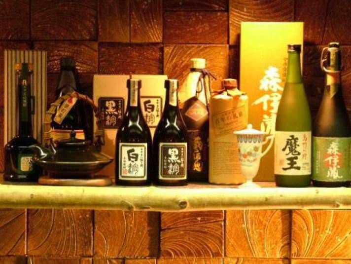 ■厳選の日本酒・焼酎・ワイン