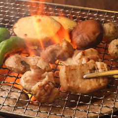 雞燒肉 鳥半