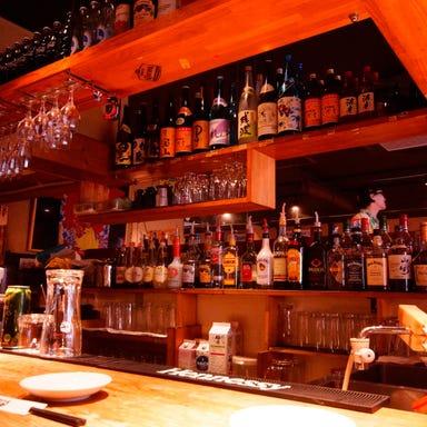 焼酎日本酒 鉄板居酒屋 てつまる 栄店 店内の画像
