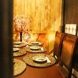 関内での接待や合コン、女子会などの宴会に完全個室でおもてなし