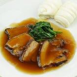 豚肉の角煮(中国パン付き)