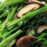 中国野菜のあっさり炒め