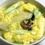 野菜と玉子のスープ