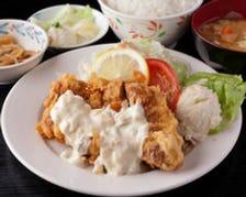 【定食】ごはん・麺の大盛り無料!!