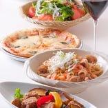 色彩豊かな料理は、こだわりの食材を使用した絶品料理ばかり。