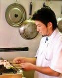 【店主の西川圭一です】 ご来店心よりお待ちしています!!