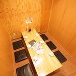 《個室》ストレスフリーな空間で楽しいお食事を♪