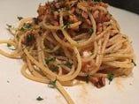 たこのボロネーゼスパゲティ
