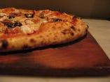 たことアンチョビのピザ