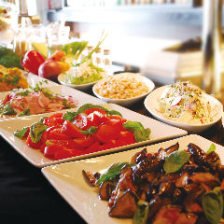 【平日ランチブッフェ】出来立てPIZZA・PASTA、サラダ、デザート、ドリンクバーなど食べ放題税込1380円