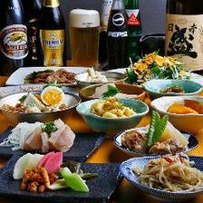 飲み放題付き宴会コース4,000円~