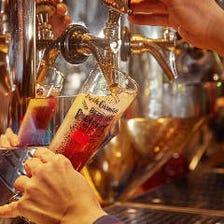 ビアテンダーが注ぐオリジナルビール