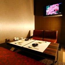ワンランク上の上質な空間VIP個室