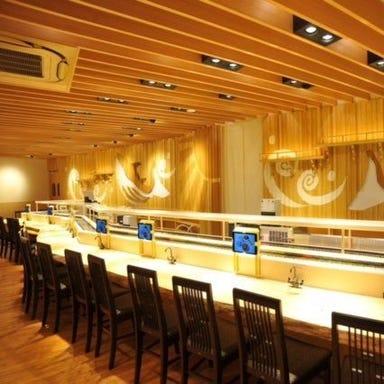 金沢回転寿司 輝らり  店内の画像