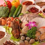 [新鮮&厳選食材を使用] 選りすぐりの食材を老舗伝統の職人技で