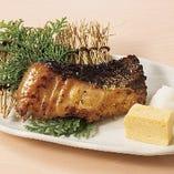 もろみ漬け真鱈の炙り焼き