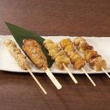 おまかせ串焼き盛合せ(5本)