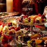 【パーティーコース】 世界観にマッチしたシェフ自慢のお料理
