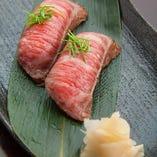 近江牛の握り鮨