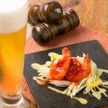 【おすすめ小皿料理】海老のスパイシーマリネ