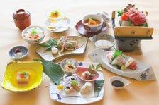 四季折々の京の食材に拘ったメニュー