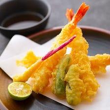 特製天ぷら盛り合わせ