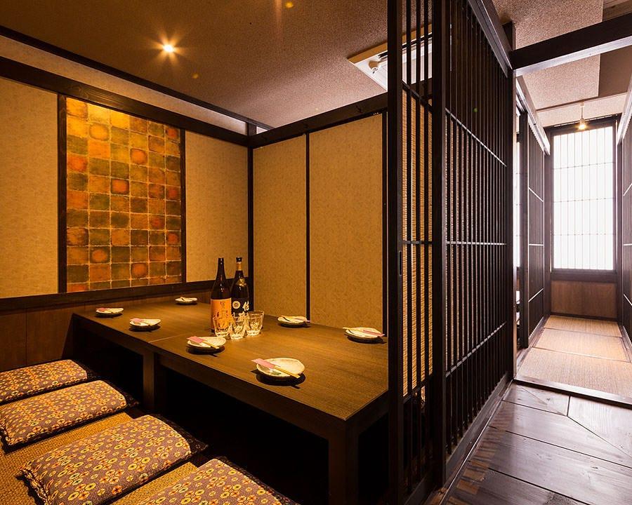 和の趣き溢れる掘りごたつ個室11部屋!!