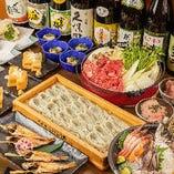 [旬を味わう宴会] 日本海鮮魚や新潟名物たっぷりのコースを堪能
