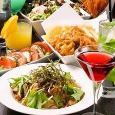 【貸切可】料理7品 2時間50種飲み放題 カラオケ&ダーツ付 +¥1000で3時間に延長可能