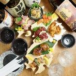 【こだわり素材】 九州各地の郷土料理を季節のこだわり素材で!