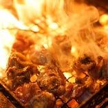 九州魂名物 もも炭火焼ジュワ~っとモモ肉の旨みが染み出る逸品